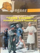 1/35 JAGUAR 63071. WOUNDED SOLDIER & SURGEON. NEW.