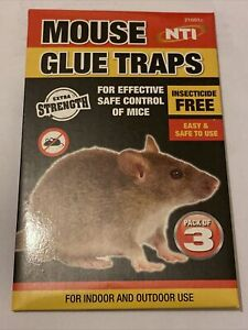 Mouse Traps Pack Of 3