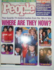 People Magazine Cast Of Saved By The Bell Now WITH ML October 2001 030315r2