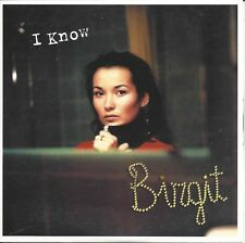 Birgit -  I Know    cd single in cardboard (Schuurman)