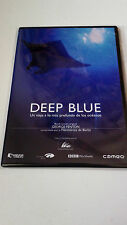 "DVD ""DEEP BLUE"" COMO NUEVO CAJA SLIM GEORGE FENTON DOCUMENTAL"