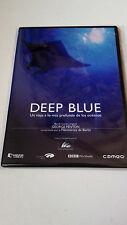 "DVD ""DEEP BLUE"" COMO NUEVO CAJA SLIM GEORGE FENTON DOCUMENTAL"
