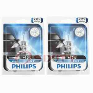 2 pc Philips Front Fog Light Bulbs for Mitsubishi Eclipse Endeavor Galant rl