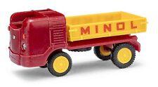 """Busch/Mehlhose 210008500, Multicar m21 """"Minol"""", h0 Garage 1:87"""