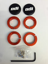 Lock-Jaw Clamps, Alloy Clamps for Lock-On system grips in RED