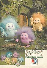 X0687 Snuggle Bumms i folletti del bosco - Pubblicità del 1985 - Vintage advert