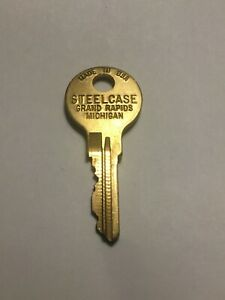 Replacement Steelcase File Cabinet Key FR306-FR789 Free Shipping 2+Discount Used