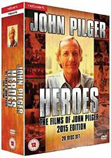 JOHN PILGER HEROES - The Films Of John Pilger 2015 Edition - 20-Disc DVD Boxset