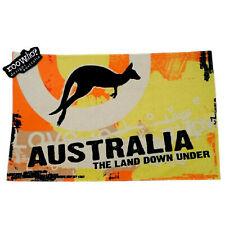 Australian Souvenir Kitchen Tea Towel Kangaroo Australia The Land Down Under