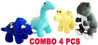 Plush Dinosaurs Stuffed Animal Family 4 Pack