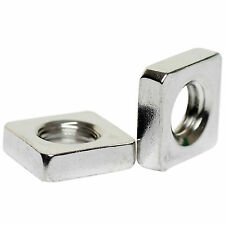 M2 M2.5 M3 M4 M5 M6 M8 M10 A2 STAINLESS STEEL SQUARE NUTS THIN TYPE DIN 562