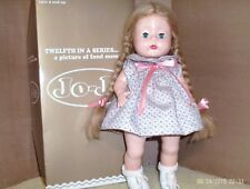 1995 13 in. plastic/jointed HORSMAN toddle girl doll- JO JO