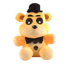 Five Nights at Freddy's Horror Game Plush Golden Freddy Bear Doll Xmas Gift Toy