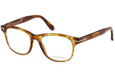 24dffcd4d719b Tom Ford Men   Women Eyeglasses Square FT5399-050 Havana Frame   Demo Lenses