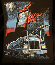 Vintage Def Leppard Sew On Large Back Patch ' On Through The Night ' Theme