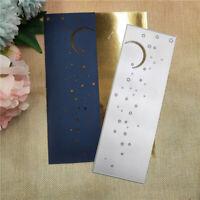 Stanzschablone Sternenhimmel Mond Weihnachten Geburtstag Hochzeit Karte Album