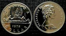 Canada 1972 Proof Like Gem Voyageur Nickel Dollar!!