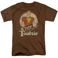 Tootsie Pop CAPTAIN TOOTSIE Licensed Adult T-Shirt All Sizes