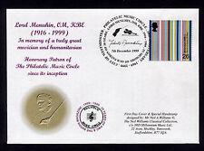 1999 Britain Fdc 30yr Anniversary Lord Menuhin Om Kbe
