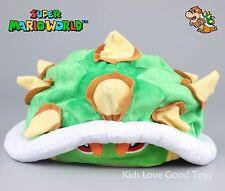 New Super Mario Bros Koopa Bowser Plush Hat Cosplay Costume Cute