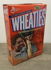 Vintage Wheaties Cereal w/ Althea Gibson 12 oz Full Box Factory Sealed