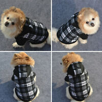 Warm Pet Dog Hoodie Coat Jacket Puppy Cat Winter Hooded Costume Apparel Pretty K