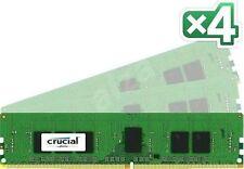 Memoria (RAM) de ordenador Crucial 4 módulos