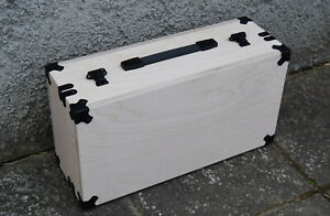 SynthRacks:Eurorack Synth Portable case with Quality Power. Birch Ply 84hpx6u