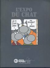 CATALOGUE DE VENTE PETITS PAPIERS L'EXPO DU CHAT DE GELUCK MARS / AVRIL 2012 TBE