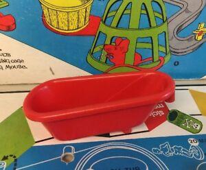 Original Mouse Trap Game Bathtub Part 18 Ideal 1963 Clean No Damage