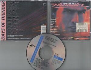 Days Of Thunder CD-SOUNDTRACK  CHER , JOHN WAITE , DAVID COVERDALE © 1990