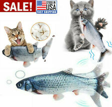 Cat Interactive Toys Fish Toy Electric Realistic Flopping Moving Fish
