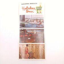 Vintage Brochure for Holiday Inn Alexandria Minnesota