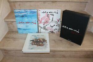 Zao Wouki / 3 vol sous emboitage (ed albin-michel,