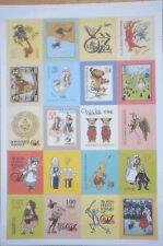 Wizard Of Oz Stamp Style Stickers, 80 stickers Scrapbook Cardmaking Craft