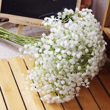 20Pcs Fake Silk Home Wedding Gypsophila Babys Breath Flower Plant Decals Floral