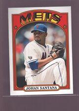 JOHAN SANTANA NEW YORK METS 1989 TOPPS VARIATION MINI SP 2013 TOPPS TWINS