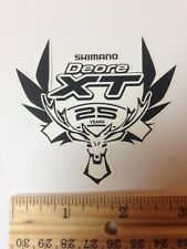SHIMANO Deore XT  MTB Race ~~ Frame Bicycle Bike Rack Tool Stand STICKER DECAL