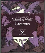 J.K.Rowling's Wizarding World Creatures Magical Film Projections HC 2017