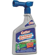 Cutter Hg-61067 Backyard Bug Control Spray Concentrate, 32 Oz