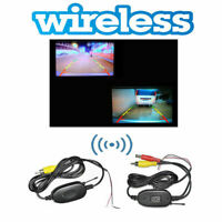 Wireless Color Video Transmitter Car Reverse Rear View Parking Backup Camer Q6A2