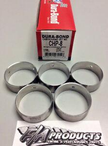 Small Block Chevy 350 USA Made High Performance Cam Bearing Set Dura-Bond CHP8