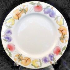 """FRUITS by Block Spal Bread & Butter 6.25"""" NEW NEVER USED Porcelain Portugal"""
