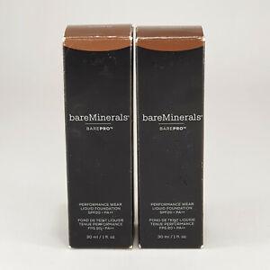bareMinerals BAREPRO Performance Wear Liquid Foundation SPF20 30ml Choose Shade