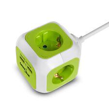 Mehrfachstecker Steckdosenwürfel Schukostecker USB Anschluss Steckdosenleiste