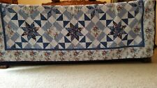 Comforter King Padded Quilt Pattern Comforter by Mainstays Large Excellent Used