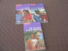 Série Coups de Coeur Lot de 3 livres