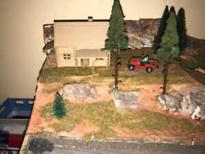 Ho 1/87 Scale  Log House Kit (WOOD)