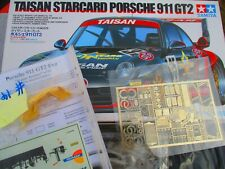 Taisan Starcard Porsche 911 GT2 TAMIYA 24175 PHOTO ETCH, RESIN DECALS ADDED 1:24
