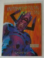 2013 Fleer Retro Marvel Intimidation Nation #11 Galactus Free Shipping!